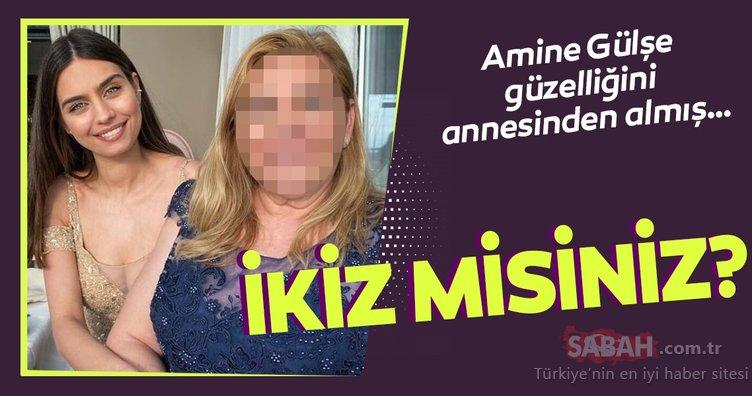 Mesut Özil'in eşi Amine Gülşe'nin annesini görenler şoke oldu! İkiz misiniz?