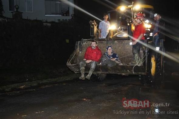 Trabzon'u sel vurdu