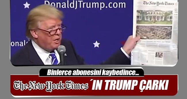New York Times Trump'tan özür diledi