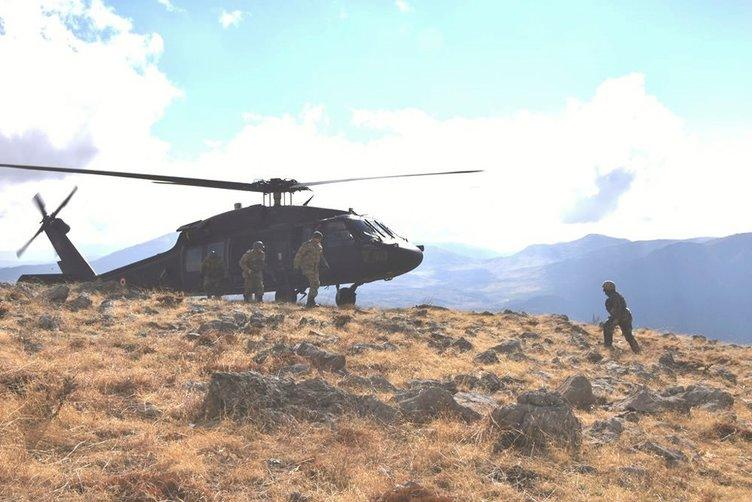 Bitlis Sehi ormanları bölgesinde PKK'ya dev operasyon