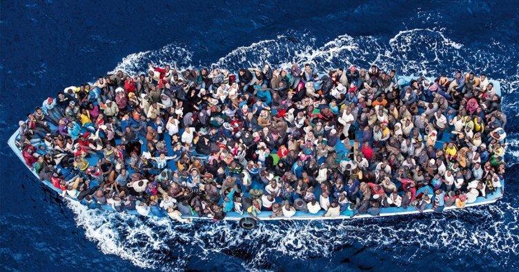 İspanya açıklarında 200 mülteci kurtarıldı!