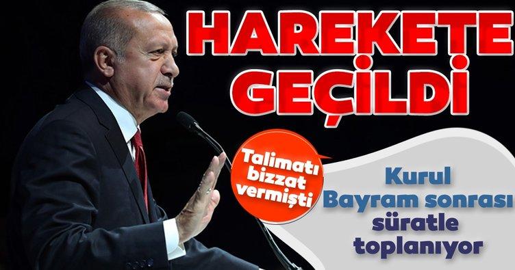 Son dakika: Başkan Erdoğan bizzat talimat vermişti! Harekete geçildi...