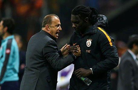 Galatasaray'da Gomis-Terim zirvesi