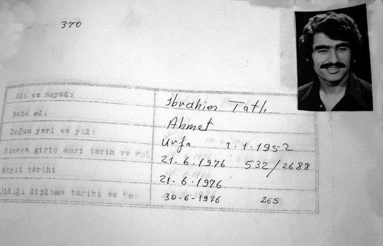 İbrahim Tatlıses'ten bıyıklı ilkokul diploması itirafı