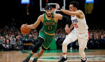 Boston uzatmada Los Angeles Clippers'ı geçti
