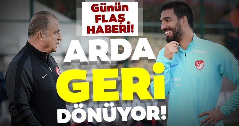Günün flaş transfer iddiası: Arda Turan'a onay çıktı! Galatasaray'a dönüyor...