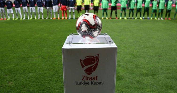 İşte Ziraat Türkiye Kupası'nda yarı final eşleşmeleri ve tarihleri