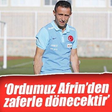 """Ampute Milli Takımı kaptanı Osman Çakmak: """"Ordumuzun Afrin'den zaferle döneceğine inanıyorum"""""""