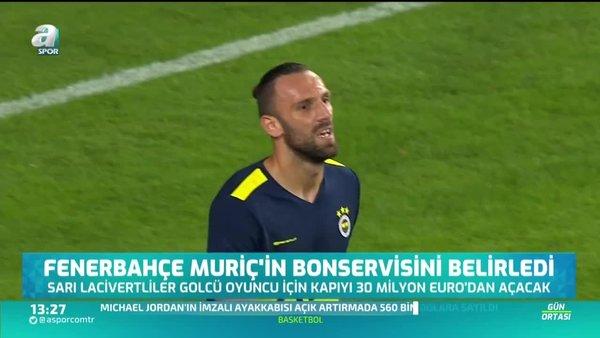 Fenerbahçe Vedat Muriç'in bonservisini belirledi