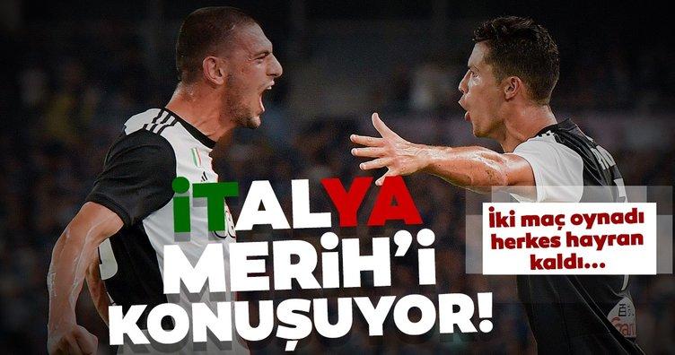 İtalya Merih Demiral'ı konuşuyor!