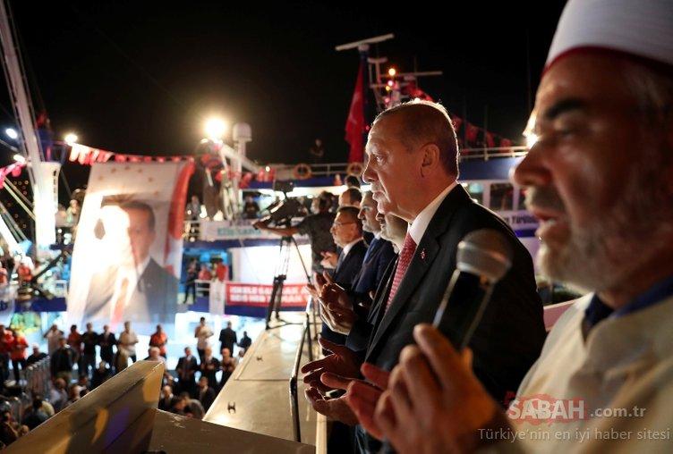 Başkan Erdoğan 'vira bismillah' dedi