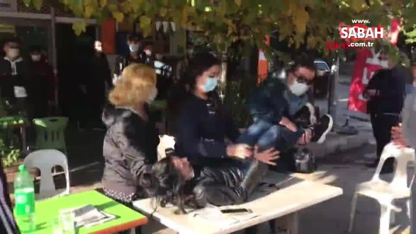 Aydın'da dehşet! Tartıştığı kız arkadaşını sokak ortasında bıçakladı   Video