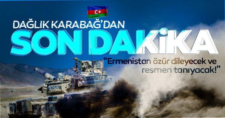 Son dakika haberleri: İşte Dağlık Karabağ çatışmalarındaki son durum! İlham Aliyev'den kritik açıklamalar geldi...