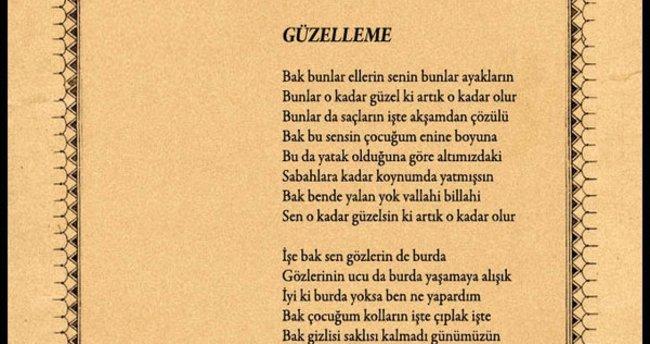 Güzelleme şiiri Hangi şaire Aittir Kültür Sanat Haberleri