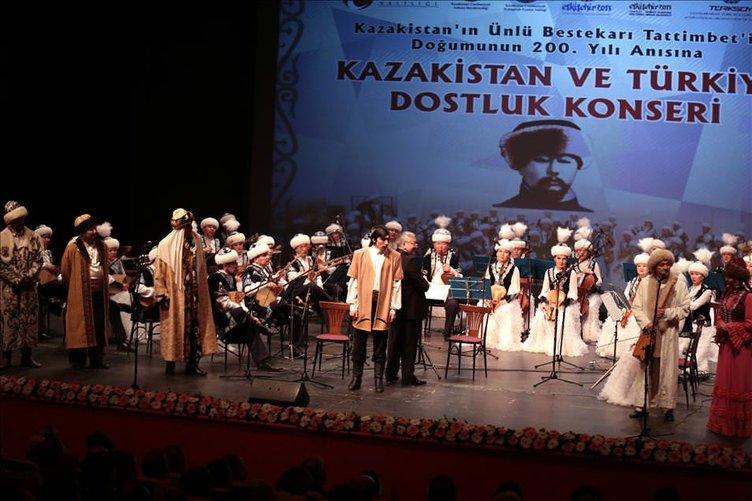 Kazakistan ve Türkiye Dostluk Konseri