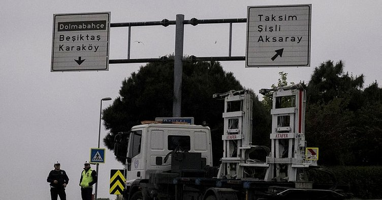 Taksim Meydanı araç trafiğine kapatıldı ile ilgili görsel sonucu