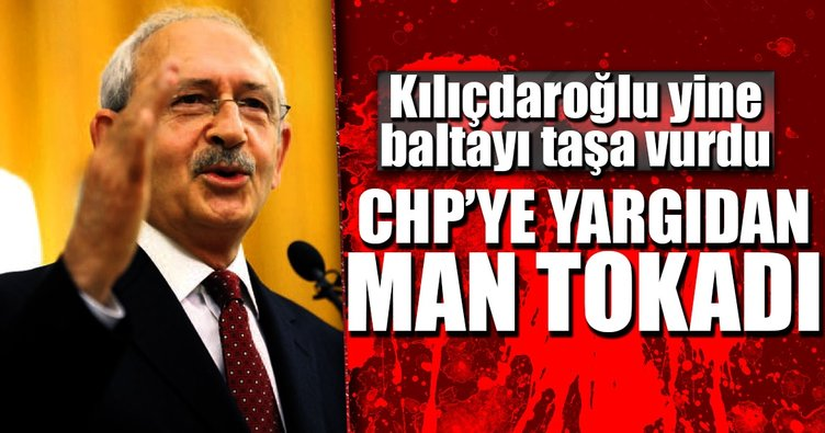 CHP'ye yargıdan Man tokadı