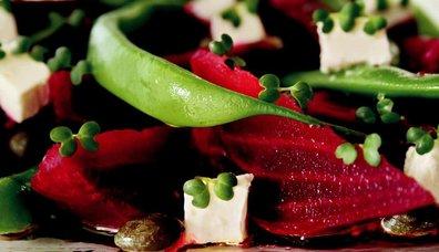 Hardal Tohumu Filizli Pancar Salatası