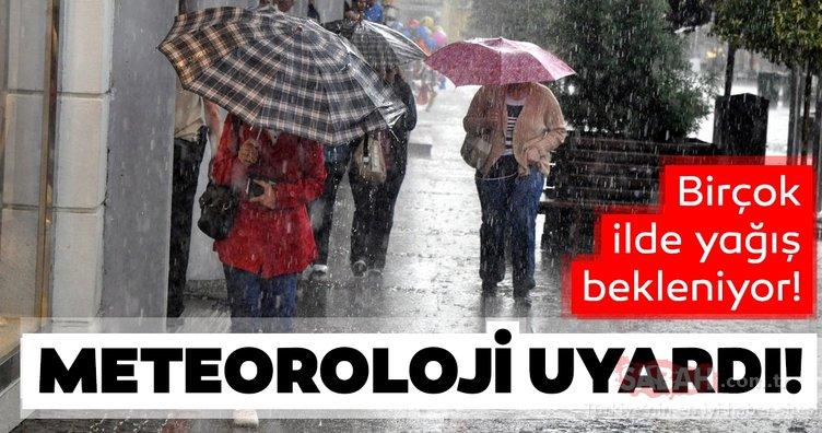 Meteoroloji'den son dakika hava durumu sağanak yağış uyarısı! İstanbul için tarih verdi!
