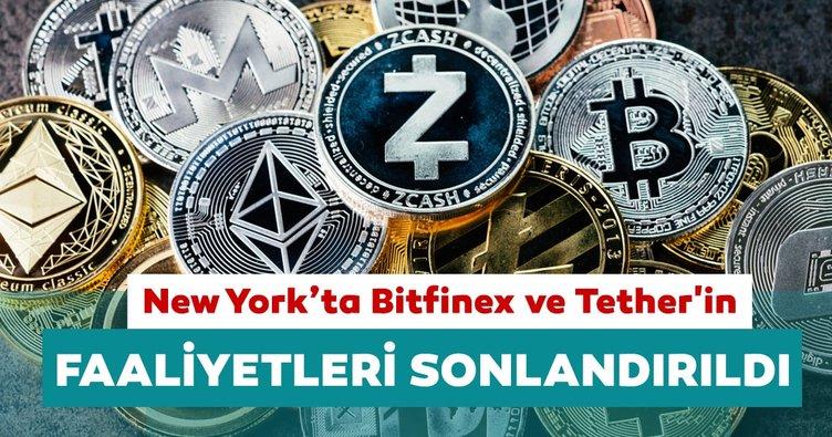 New York'ta kripto para işlem platformu Bitfinex ve Tether'in faaliyetleri sonlandırıldı