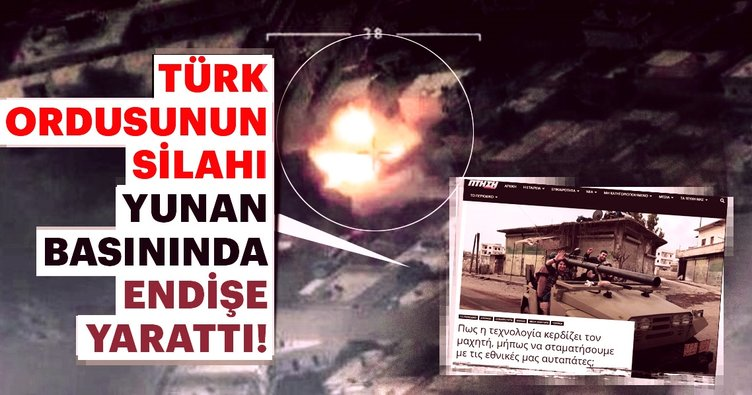 Türk ordusunun silahı Yunanistan'da endişe yarattı!