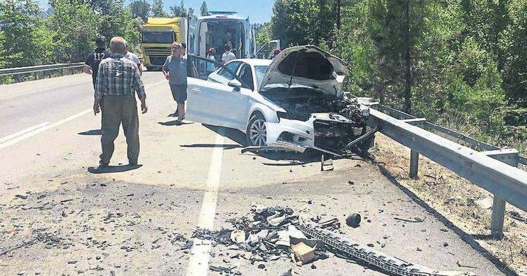 Avukat ve kardeşi kaza kurbanı oldu