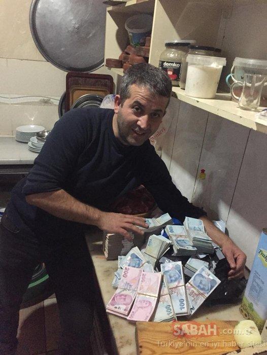 Poşette bulduğu 300 bin lirayı sahibine teslim etti