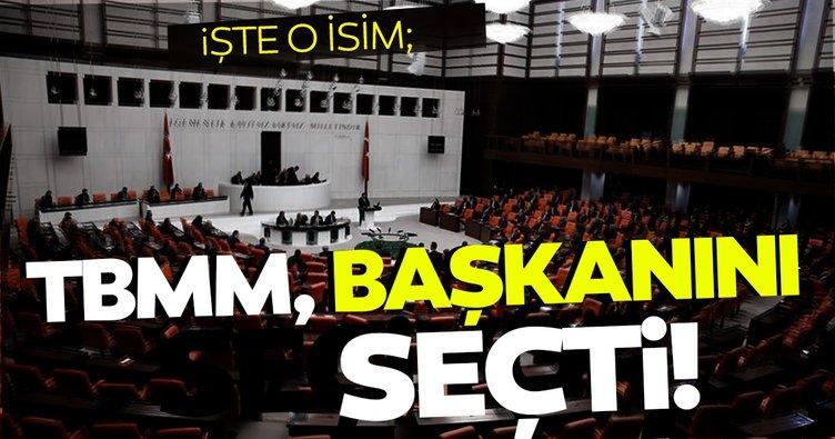 Son dakika haberi: AK Parti Tekirdağ Milletvekili Mustafa Şentop, yeniden TBMM Başkanı seçildi
