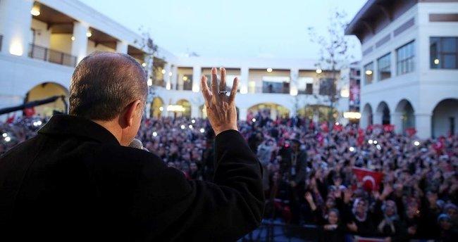 Erdoğan: Sen bu kararı alsan ne yazar, almasan ne yazar?