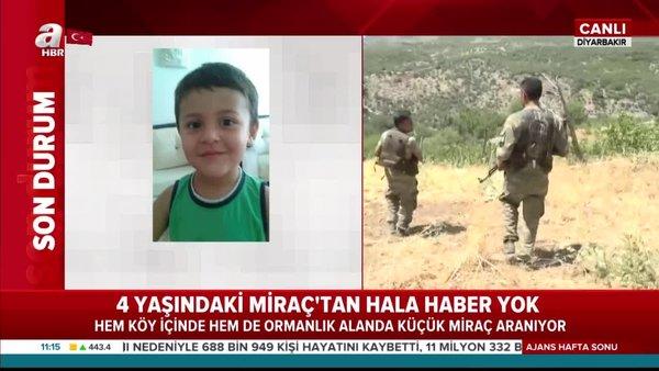 Kayıp Miraç'ı arama çalışmalarında son durum: Diyarbakır Dicle'den kaybolan Miraç... | Video