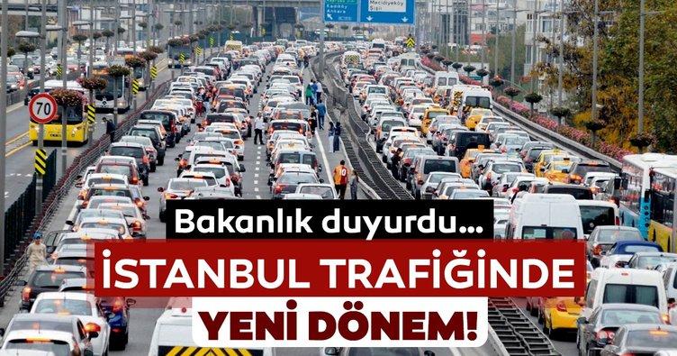 İçişleri Bakanlığı'ndan İstanbul trafiği ile ilgili önemli açıklama