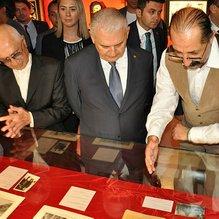 TBMM Başkanı Yıldırım Büyük Dahi/Gazi Mustafa Kemal sergisinin açılışını yaptı