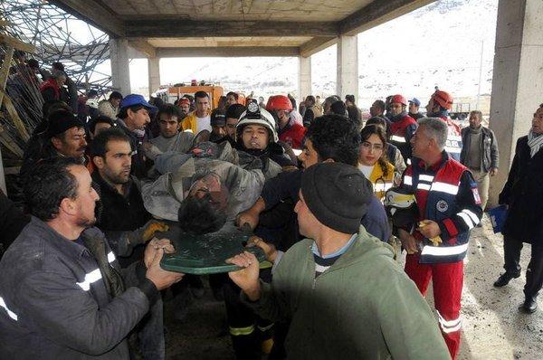 Nevşehir'de göçük