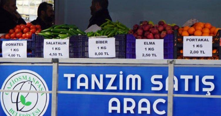 Tanzim satış noktaları nerelerde var? Hangi sebze ve meyve satılıyor?