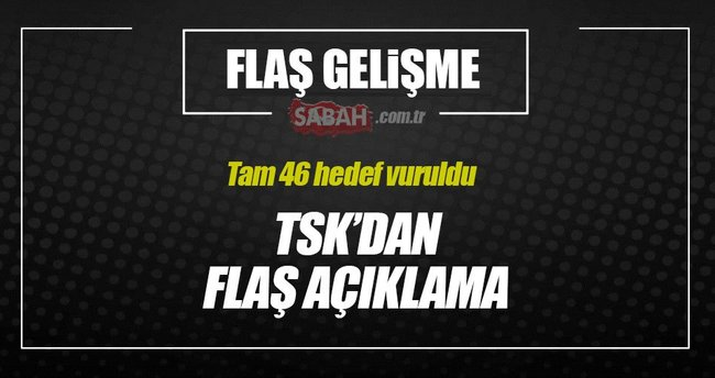 27 DEAŞ, 19 PKK/PYD hedefi vuruldu