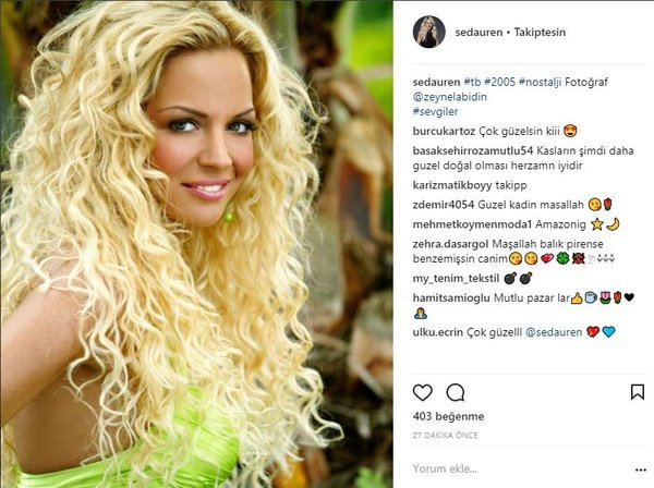 Ünlü isimlerin Instagram paylaşımları (28.01.2018)
