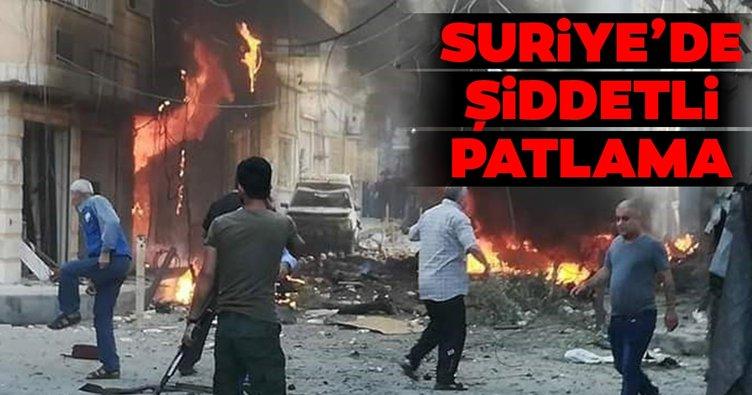 Suriye'nin Haseke kentinin Kamışlı bölgesinde meydana gelen patlamada 11 kişi yaralandı
