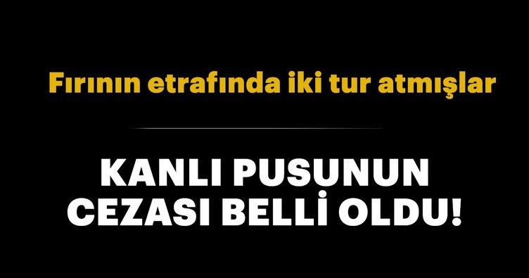 Ankara'daki kanlı pusuda sanıkların cezası belli oldu!