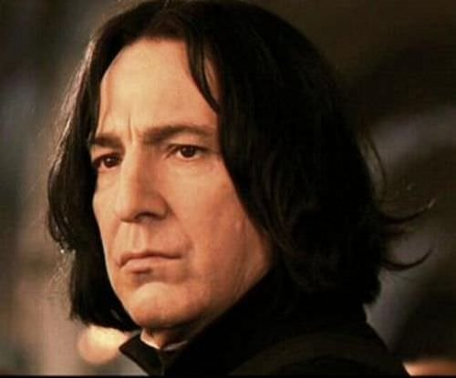 Alan Rickman ve Harry Potter
