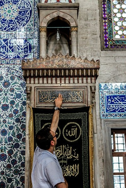 Bu camide cennetten parçalara dokunmak mümkün