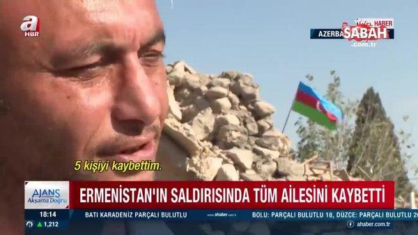 Ailesinden 5 kişi şehit düşen Azerbaycanlı Teymur Serkarov'dan A Haber'e yürek burkan açıklamalar | Video