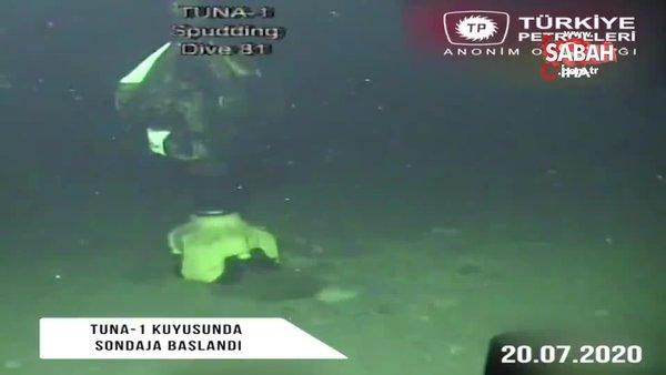 TP, Tuna-1 kuyusunun sondaj görüntülerini paylaştı   Video