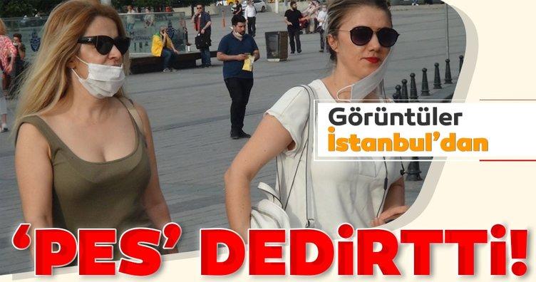 İstanbul'da 'Pes' dedirten manzaralar!