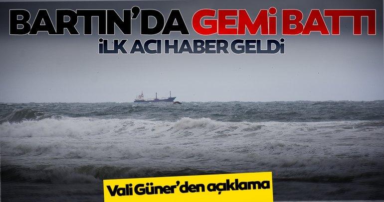 Son dakika haberleri: Bartın İnkumu açıklarında yük gemisi battı! 6 kişi kurtarıldı 6 kişi hayatını kaybetti
