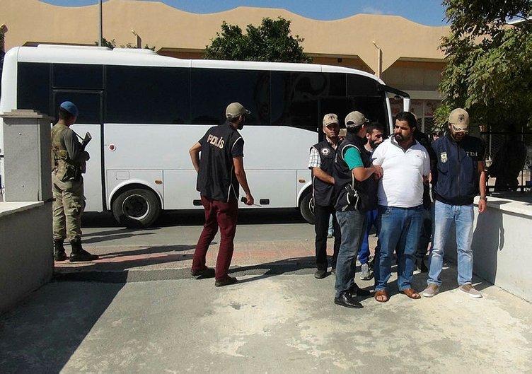 Mersin'de kıskıvrak yakalandılar!