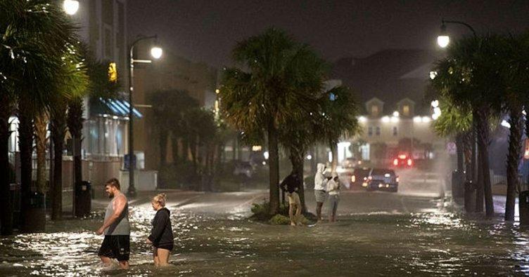 Isaias Kasırgası ABD'de kıyılarına ulaştı