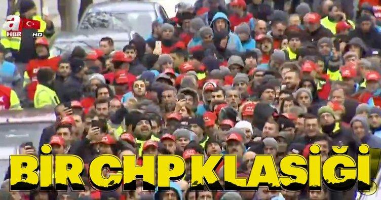 CHP'li Beşiktaş Belediyesi'nde şok! İşçiler ayaklandı