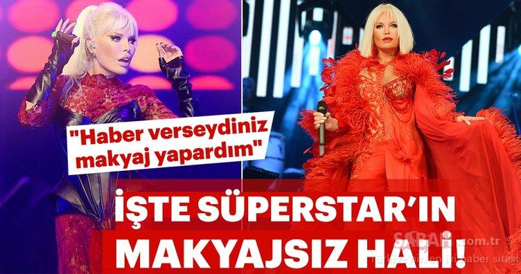 İşte Süperstar Ajda Pekkan'ın makyajsız hali!