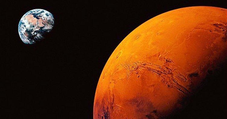 Mars örümcekleri uzaylı tartışmalarına neden oldu!