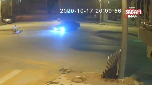 Afyonkarahisar'da drift yapan sürücüyü polis affetmedi | Video